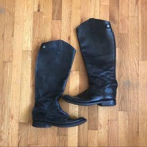 Vintage Vero Cuoio Riding Boots 'Giddyup' 8.5